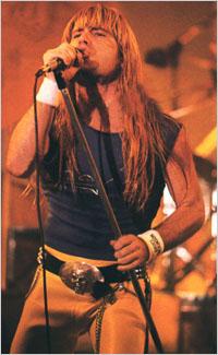 Брюс на сцене. 1983 год.