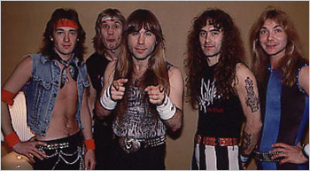 Мэйден в 1985